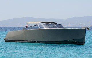 Motorboat charter on Ibiza Van Dutch 40