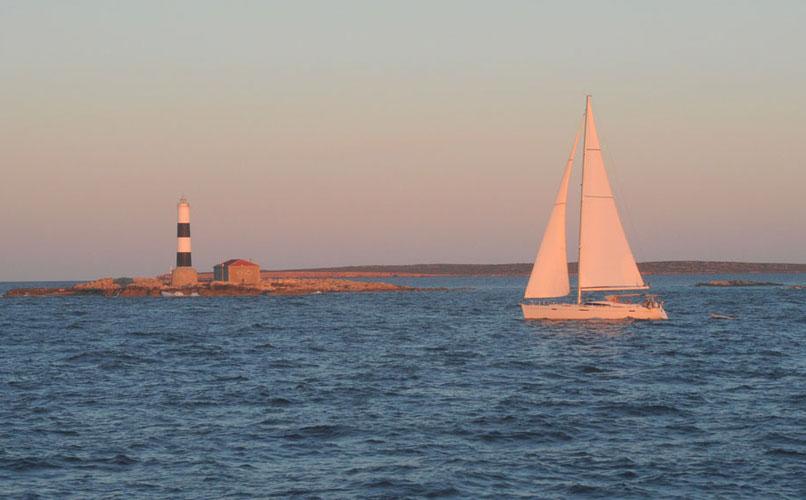 Den Pou lighthouse Formentera
