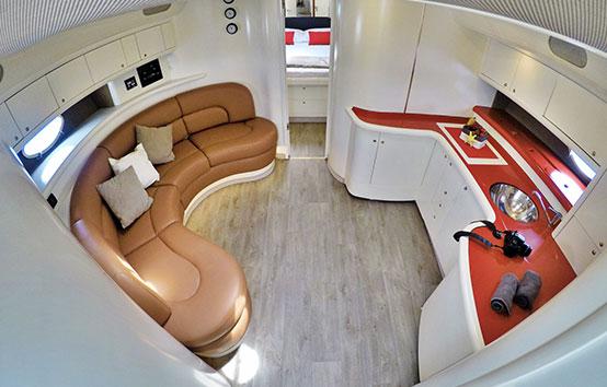 Ibiza yacht charter Cranchi 50