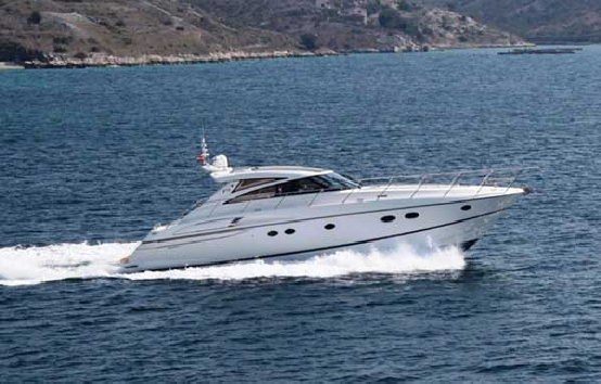 Yacht charter on Ibiza Princess 58