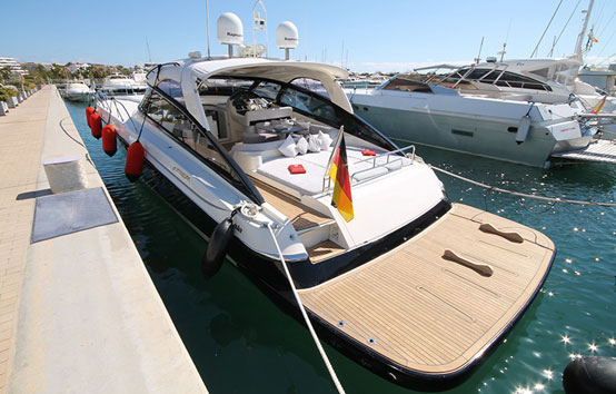 Alquiler de Yate en Ibiza o Formentera Baia Azurra 63