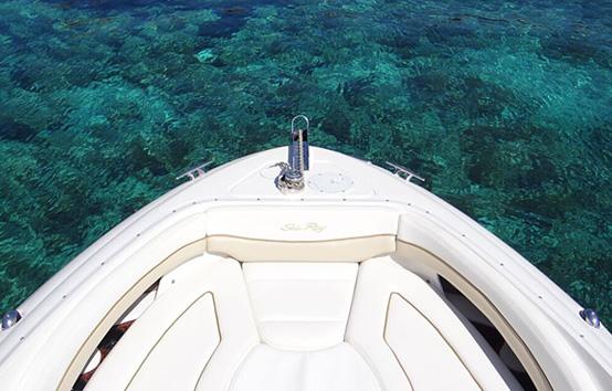 Alquiler de lancha en Ibiza Sea Ray 290
