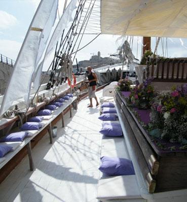Bodas en barco en Ibiza