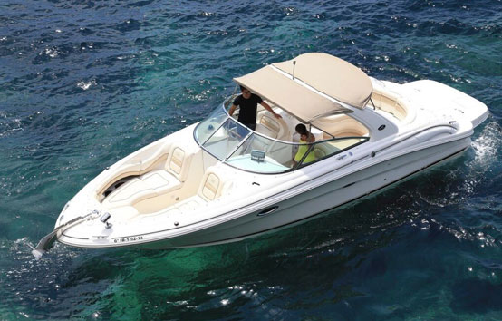 Ibiza Motorboat Charter Sea Ray 290