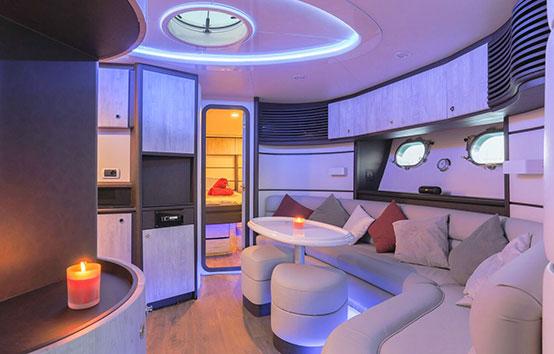 Ibiza Yacht Charter Baia Azzurra 63