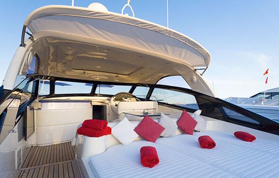 Ibiza Yacht Charter Baia Azzurra 63 Exterior
