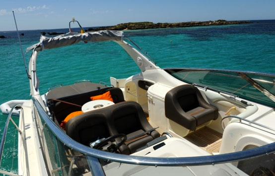 Ibiza motor boat charter Cranchi 39
