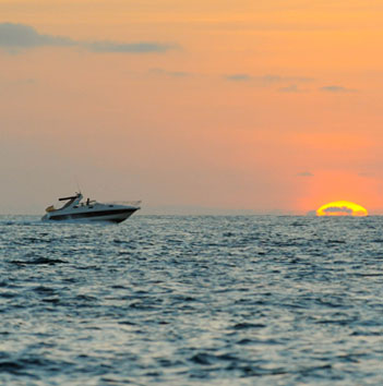 Charter boat routes recommended by Barracuda Ibiza Charter