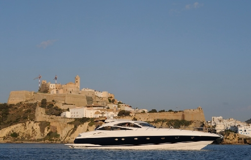 Yacht charter on Ibiza and Formentera Sunseeker Predator 68