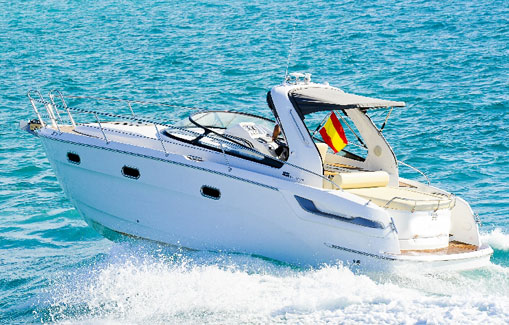 Alquiler de lancha en Ibiza Bavaria 28 sport