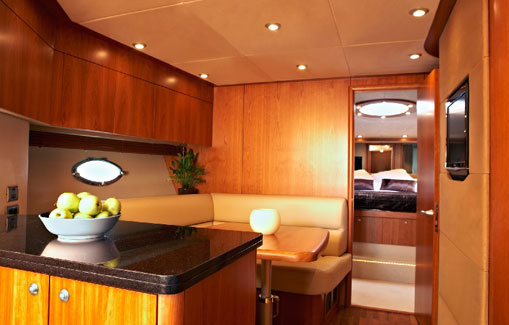 Yacht charter on Ibiza and Formentera Sunseeker Predator 72