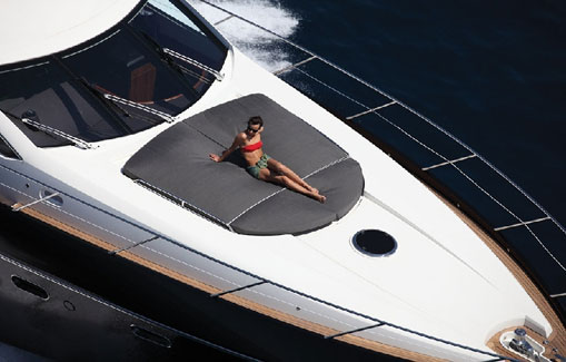 Yacht charter on Ibiza and Formentera Sunseeker Predator 74
