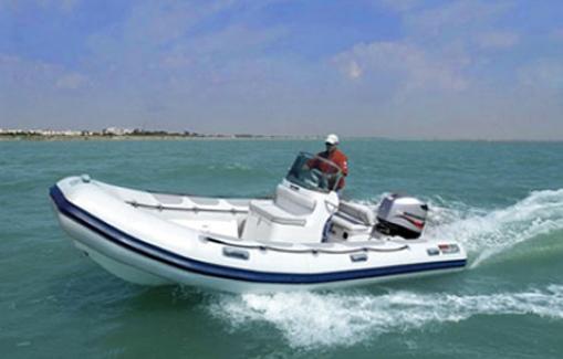 Ibiza Zodiac charter Valiant Vanguard 570