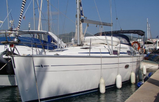 Ibiza sailboat charter Bavaria 37