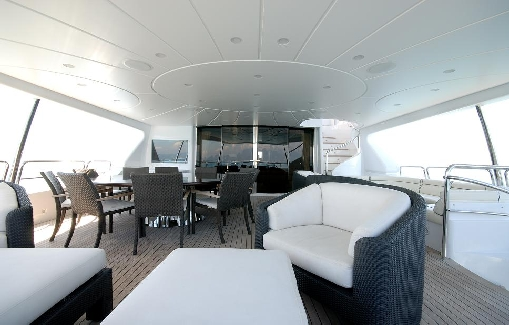 Alquiler de Yate de lujo en Ibiza Benetti 120