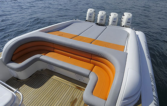 Hire Inflatable boat in Ibiza Heaven 55