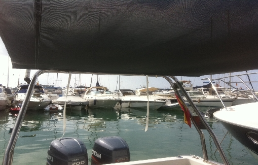 Ibiza zodiac charter Sacs Madras 33
