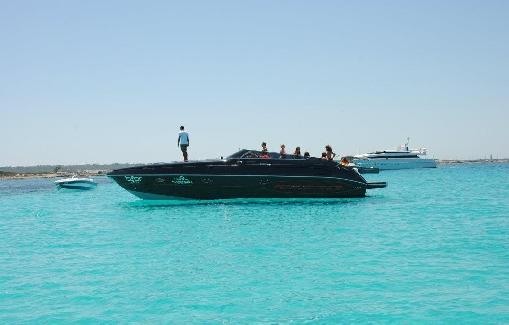Alquiler de lancha en Ibiza Performance 37