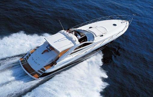 Yacht charter on Ibiza Sunseeker portofino 53