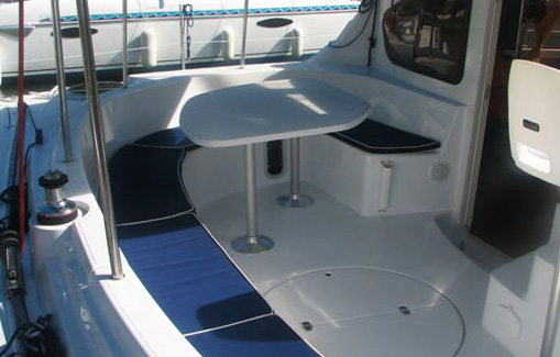 Catamarans charter on Ibiza Belize 43