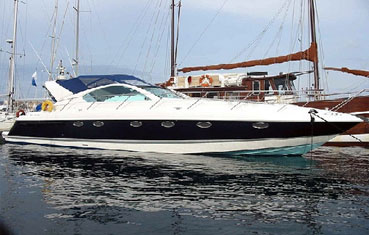 Ibiza Yacht Charter Fairline Targa