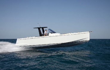 Motorboat charter on Ibiza Fjord 36 Open
