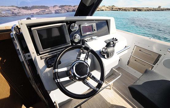 Ibiza boat charter Fjord 40