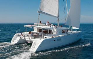 Catamarans charter on Ibiza Lagoon 440