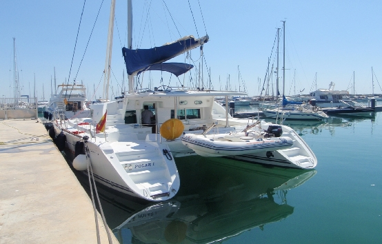 Catamarans charter on Ibiza Lagoon 440