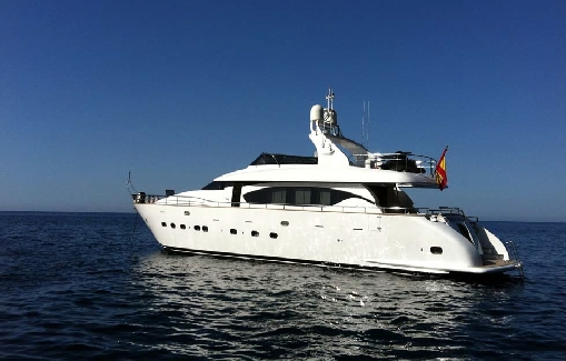Yacht charter on Ibiza Maiora 24 S
