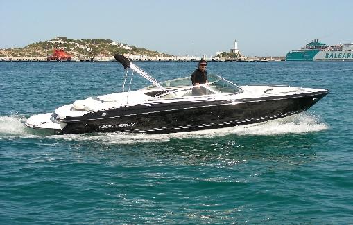 Alquiler de lancha en Ibiza Monterey 224