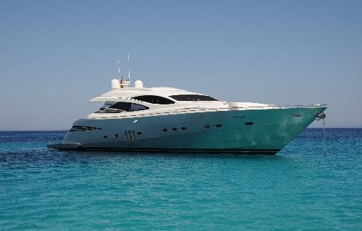 Alquiler de Yates en Ibiza: Pershing 90