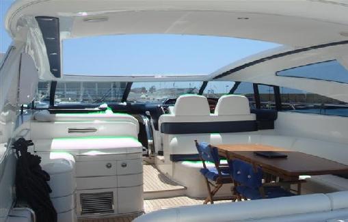 Ibiza yacht charter Princess 58
