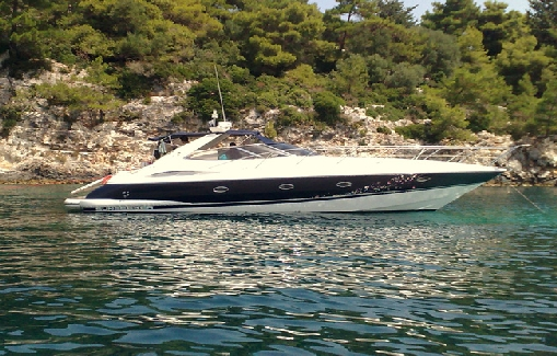 Alquiler de yate en Ibiza Sunseeker Camargue 47
