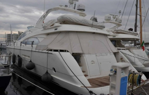 Yacht charter Aicon 64 FLY on Ibiza