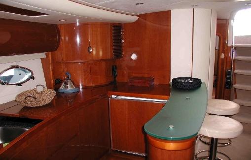 Ibiza yacht charter Princess V65