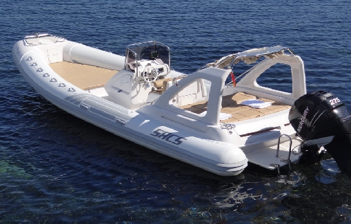 Ibiza zodiac hire Sacs 25 Dream Luxe