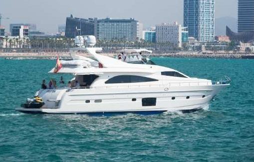 Yate de charter en Ibiza Astondoa 82