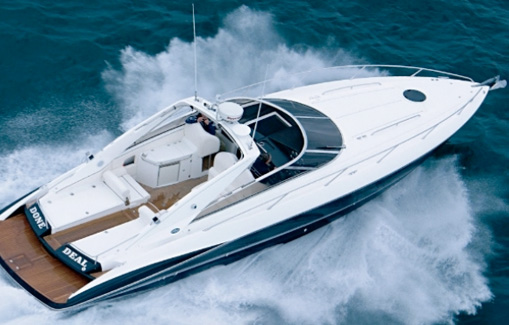 Motorboat Charter on Ibiza and Formentera Sunseeker Superhawk 43