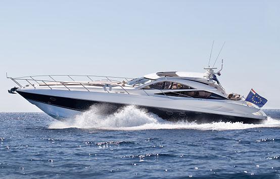 Sunseeker Predator 68 sailing