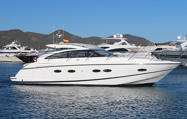 Yacht charter on Ibiza and Formentera Princess v42