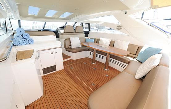 Ibiza yacht charter Princess v58