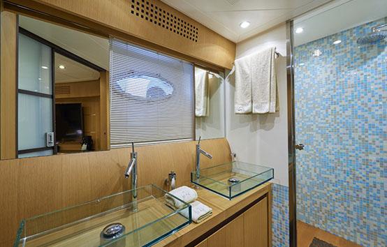 ibiza yacht charter pershing 90 WC