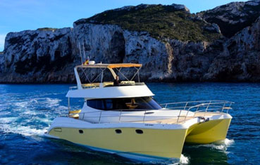 Ibiza Catamaran charter Flash Cat 435