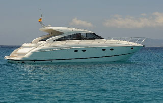 Charter Ibiza and Formentera Princess V53