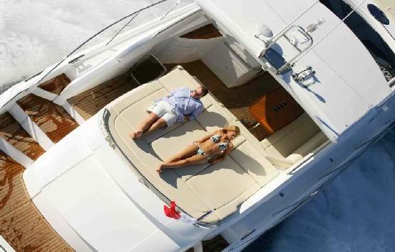 Yacht charter on Ibiza and Formentera Princess v53