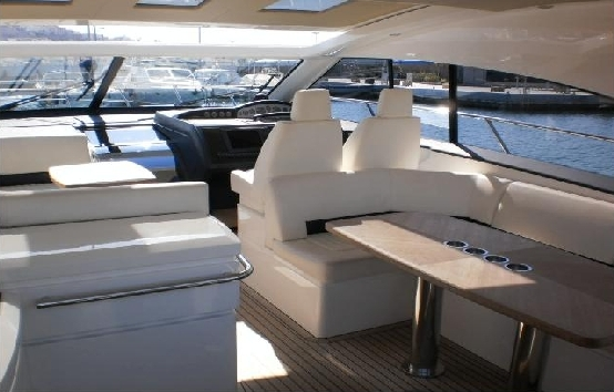 Yacht charter on Ibiza and Formentera Princess v53