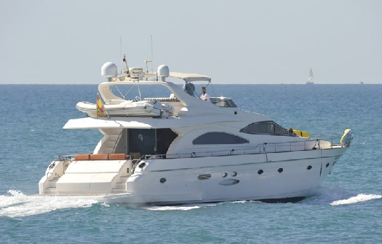 Yacht charter on Ibiza Astondoa 72