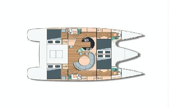 Alquiler de catamarán en Ibiza y Formentera Alliura Privilege 44