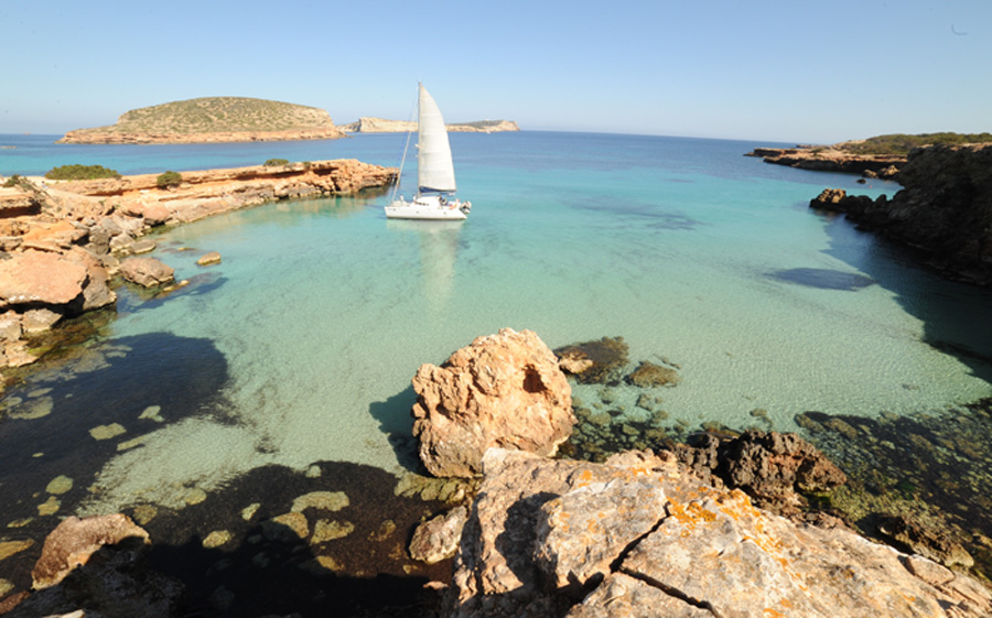 Catamarans rental on Ibiza